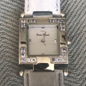 Lucien Piccard Steel, Tanzanite watch
